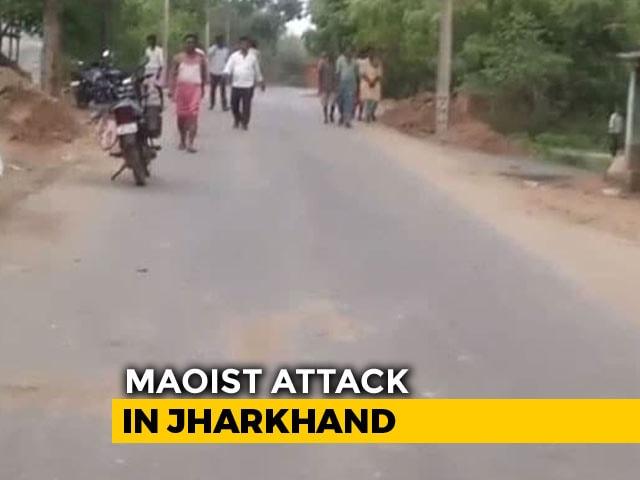 Video : 5 Policemen Killed In Ambush By Maoists Near Jharkhand's Jamshedpur