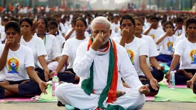 PM Modi To Lead Yoga Day Celebrations At Mega Event In Ranchi