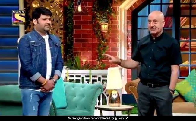 अनुपम खेर ने कपिल शर्मा से पूछा ऐसा सवाल, हंस-हंसकर लोटपोट हो गए दर्शक...देखें Video