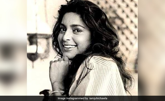 Juhi Chawla's Black-And-White Flashback Pic Is The Perfect Tuesday Treat