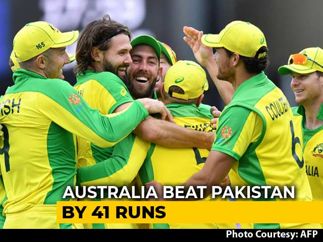 Video : World Cup 2019: David Warner Hundred Sets Up Australia's Win Over Pakistan