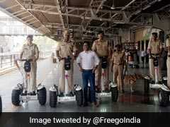 Railway Protection Force Using Segways To Get Around Ahmedabad Station