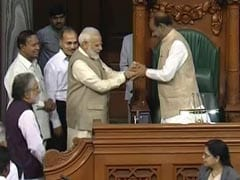 BJP's Om Birla Elected Lok Sabha Speaker, PM Modi Leads Him To Chair