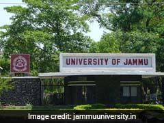 Cash-Strapped Jammu University Receives Rs 100 Crore Grant