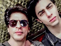 What Shah Rukh Khan Posted On Voicing <I>The Lion King</I> With His 'Own Simba' - Son Aryan