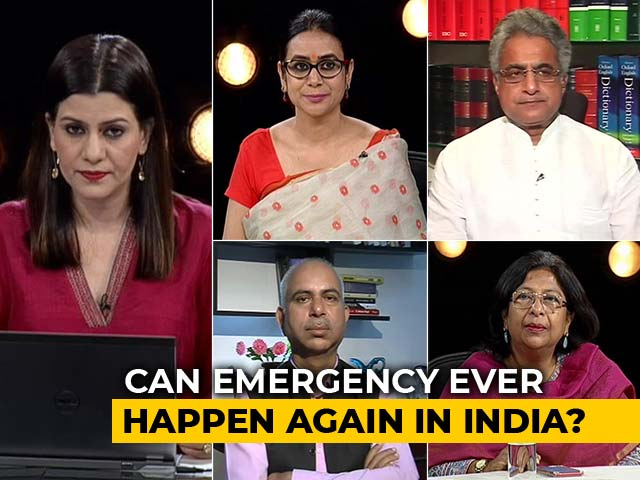 "Video : ""India's Soul Was Crushed"": PM Modi Jabs Congress Over Emergency"