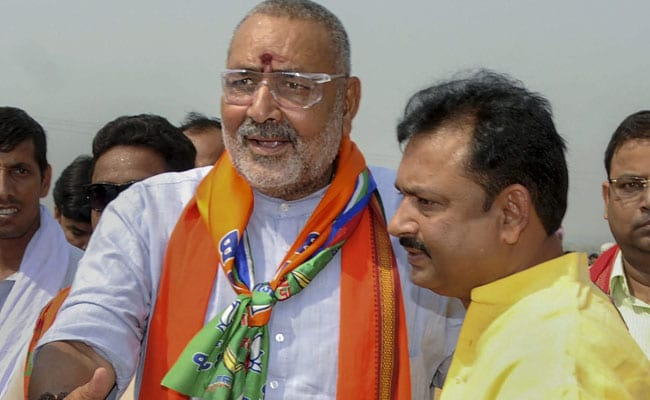What Giriraj Singh Told Officer Who Didn't Step Out Of Car To Talk To Him