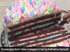 Viral: After Garlic Peeling Hack, This Ingenious Cake Cutting Hack Is Breaking The Internet (Watch Video)