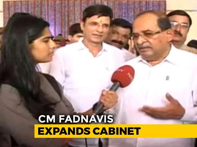 """Video : """"Ready To Take Any Responsibility..."""": Radhakrishna Vikhe Patil To NDTV"""