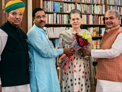 Ahead Of Parliament Session, Union Ministers Reach Out To Sonia Gandhi