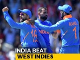 Video : World Cup 2019: India Make Light Work Of West Indies