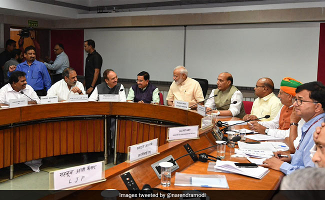 "PM, Party Chiefs To Meet On June 19, ""One Nation, One Election"" On Agenda"