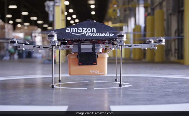 Amazon Explores Having Its Drones Provide 'Home Surveillance' For Customers