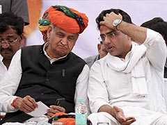"""Sachin Pilot Should Take Responsibility"": Ashok Gehlot On Son's Defeat"