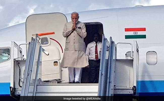 PM Modi Lands In Sri Lanka After Maldives Visit Live Updates