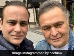 Rishi Kapoor's Pic With Nikhil Nanda Is 'Best,' Say Comments