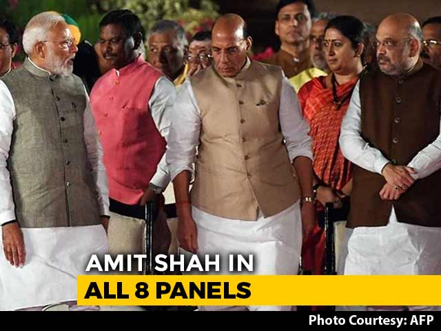 Video : Rajnath Singh Not In Key Cabinet Panel In Big Revamp, Amit Shah In All 8