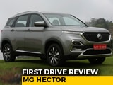 Video : MG Hector First Drive Review