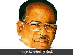 Last Rites Of Ex-Chief Minister RV Janakiraman Held In Tamil Nadu