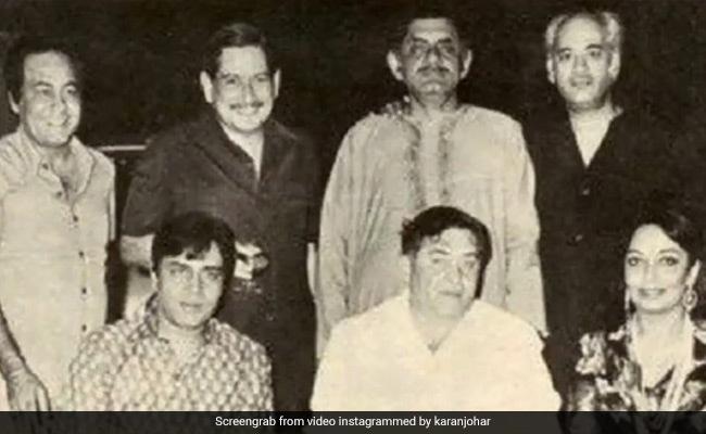 Can You Spot All The Stars In Karan Johar's Million Dollar Throwback Pic?