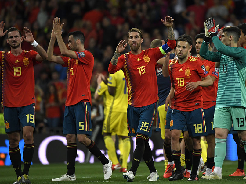 UEFA 2020 Qualifiers: Ramos, Morata On Spot As Spain Cruise Past Sweden