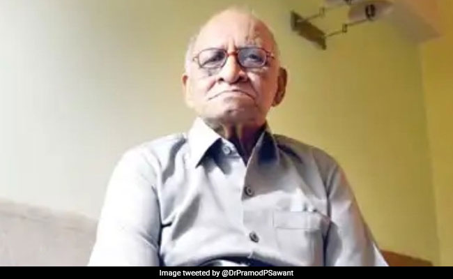 Freedom Fighter Mohan Ranade Dies At 90