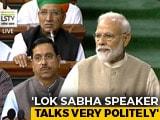 "Video : ""Matter Of Great Pride,"" Says PM Modi On Om Birla As Lok Sabha Speaker"