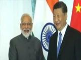 Video : চিনের রাষ্ট্রপতি শি জিনপিং-এর সাথে দেখা করলেন নরেন্দ্র মোদী