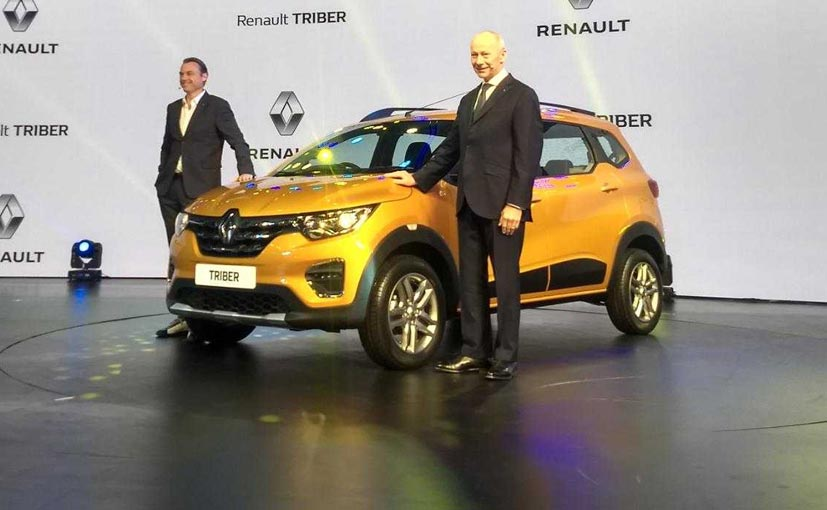 The Renault Triber with honchos Thierry Ballore - CEO & Laurens Van Den Acker, Exec. VP, Corporate Design