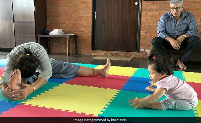 International Yoga Day 2019: Soha Ali Khan's Tiny Daughter Inaaya Wins Pic Of The Day