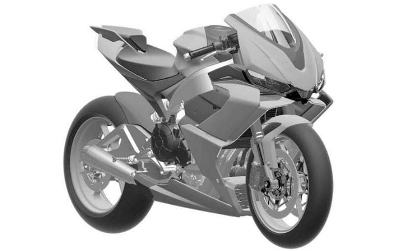 Production model drawings reveal details about upcoming Aprilia 660