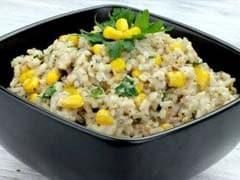 Corn Pulao Recipe: घर पर इस आसान तरीके से बनाएं कॉर्न पुलाव