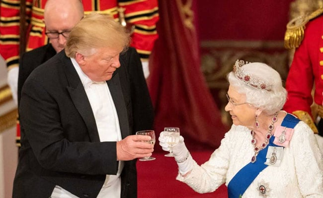 Donald Trump Says Queen Elizabeth Was A Mechanic During World War II