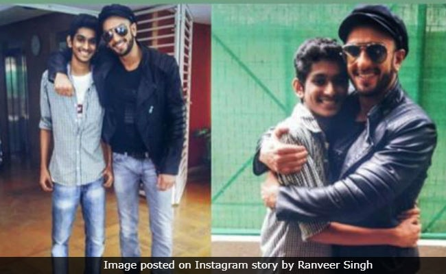 'RIP Lil Homie,' Writes Ranveer Singh For Teen Fan Who Died