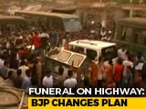 Video : Bengal BJP Aborts Highway Cremation After Showdown With Cops
