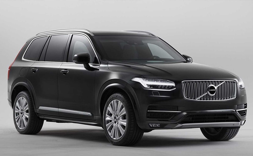 Volvo XC90 Armoured Vehicle Revealed