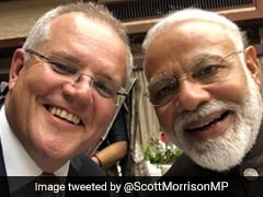 Australia's Scott Morrison Tweets Selfie With PM Modi - And A Compliment