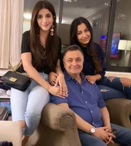 Pakistani Actress Mawra Hocane Meets Rishi Kapoor In New