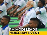Video : PM Modi Performs <i>Asanas</i> At Mega Yoga Day Event In Ranchi