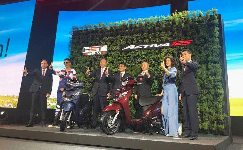 BS 6 Compliant Honda Activa 125 Unveiled