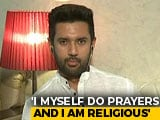 "Video : ""Giriraj Singh Keeps Making Such Comments"": Chirag Paswan On ""Iftar"" Dig"