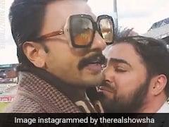 Ranveer singh ,India Pakistan ,Film ,Kapil ,Cricket World,हार,पाकिस्तानी फैन,आंसू,नजर,रणवीर सिंह,Video,वायरल