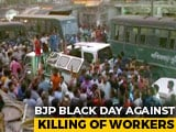 "Video : Bengal Face-Off Spirals, BJP Calls For Statewide ""Black Day"""