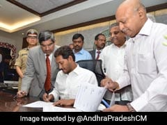 Andhra Pradesh Chief Minister Jagan Reddy Assumes Charge Of His Office