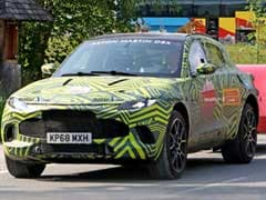 Aston Martin DBX Spotted Testing