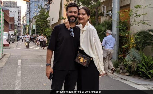 Sonam Kapoor's Post For 'Best Friend' Anand Ahuja Is Pure Love