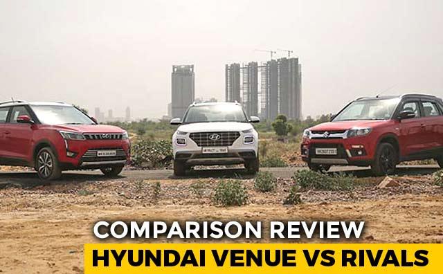 Video : Hyundai Venue Takes On Maruti Suzuki Vitara Brezza And Mahindra XUV300
