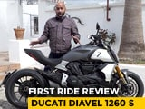 Video : Ducati Diavel 1260 S First Ride Review