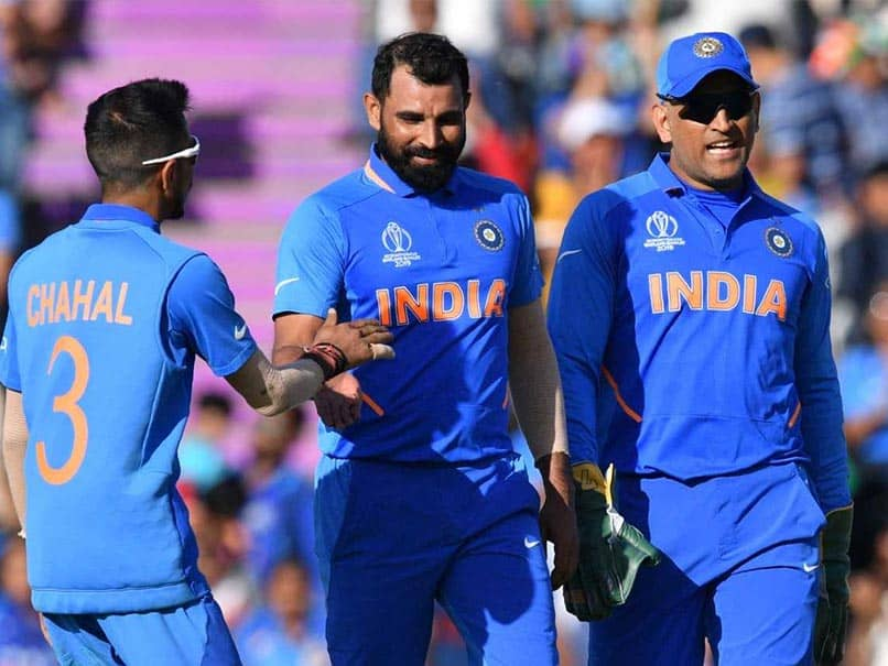 Mohammed Shami Reveals He Worked On MS Dhonis Plan To Bag The Hat-Trick