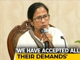 Video : Mamata Banerjee's Return To Work Appeal Turned Down By Doctors